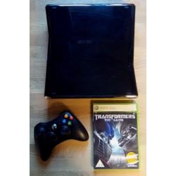 Xbox 360 S med 250 GB HD - Med spill
