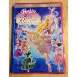 Barbie og de 12 dansende prinsessene - DVD