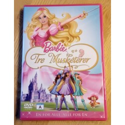 Barbie og de Tre Musketerer - DVD