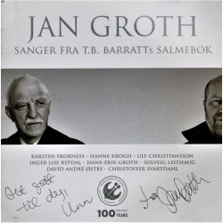 Jan Groth- Sanger fra T.B. Barratts salmebok (CD)