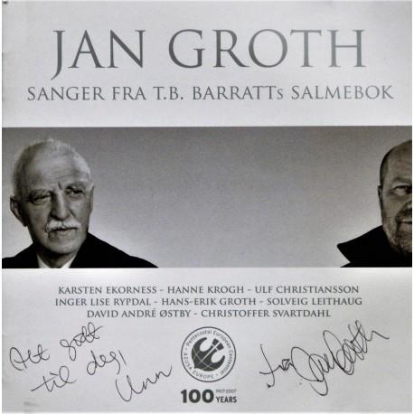 Jan Groth- Sanger fra T.B. Barratts salmebok (CD)