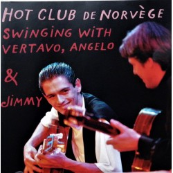 Hot Club De Norvege- Swinging with Vertavo, Angelo & Jummy (CD)