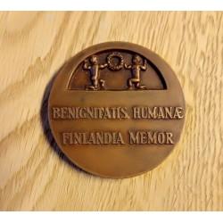 Medalje: Benignitatis Humanae Finlandia Memor - Bronse