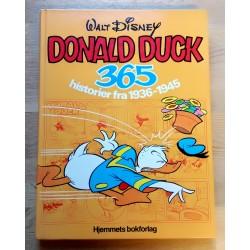 Donald Duck 365 historier fra 1936-1945 - Kjempebok