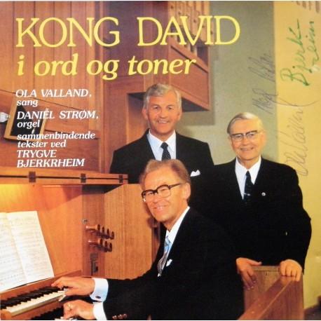 Kong David i ord og toner (CD)