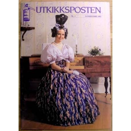 Utkikksposten: Sandefjord 1991 - Nr. 3