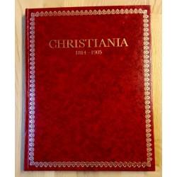 Christiania - 1814-1905 - Byen og menneskene