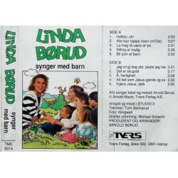 Linda Børud synger med barn