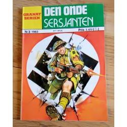 Granat-Serien: 1983 - Nr. 3 - Den onde sersjanten