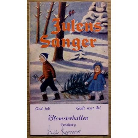 Hefte: Julens Sanger fra Blomsterhallen i Tønsberg