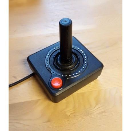 Sort joystick med en knapp