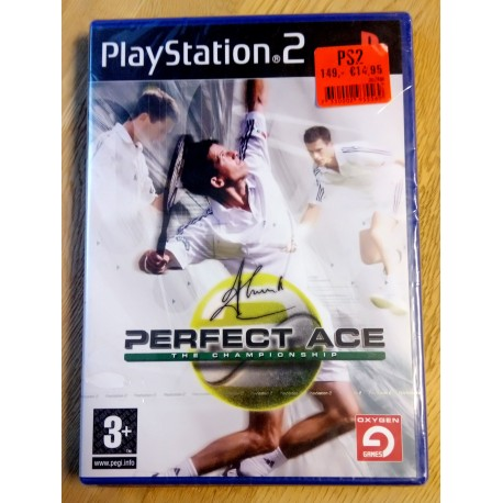 Perfect Ace: The Championship (Oxygen Games) - Playstation 2