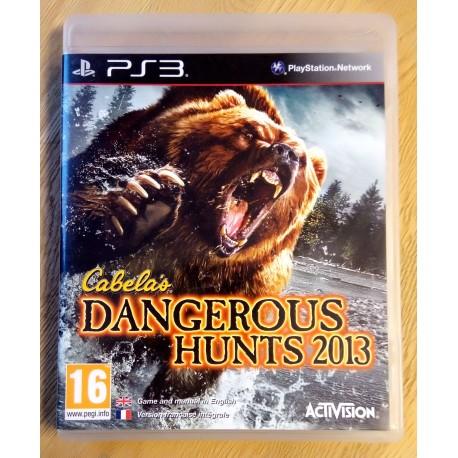 Playstation 3: Cabela's Dangerous Hunts 2013 (Activision)
