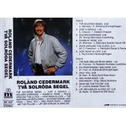 Roland Cedermark- Två solröda segel