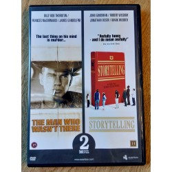 2 x film: The Man Who Wasn't There og Storytelling (DVD)