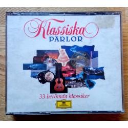 Klassiska Pärlor - 33 berömda klassiker - CD