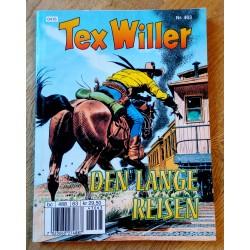 Tex Willer - Nr. 463 - Den lange reisen