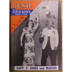 Genii: The Conjuror's Magazine: 1950 - March