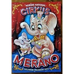 Cirkus Merano- Souvenirprogram 2012