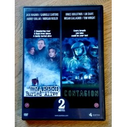 2 x action - Trapped - Buried Alive og Contagion - DVD