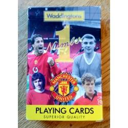 Manchester United - Playing Cards - Waddingtons - Kortstokk