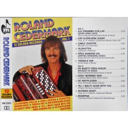 Roland Cedermark- 12 Golden Records Vol. 1