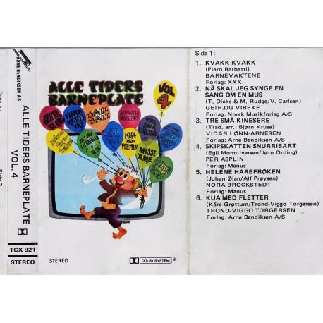 Alle tiders barneplate- Vol. 4