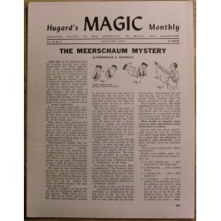 Hugard's Magic Monthly: 1949 - January