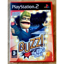 Buzz! - The Big Quiz - Norsk tale - Playstation 2