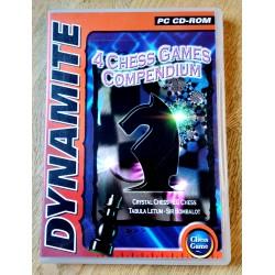 4 Chess Games Compendium - PC