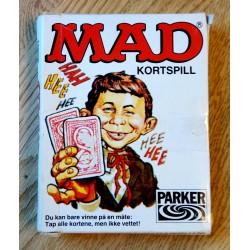 MAD kortspill - Parker