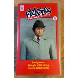 Fleksnes Fataliteter - Nr. 1 - Blodgiveren - VHS