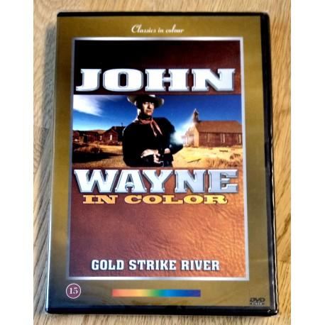 John Wayne in Color - Gold Strike River - DVD