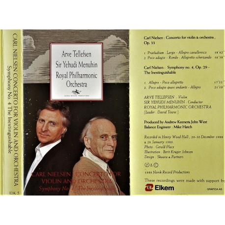 Arve Tellefsen og Sir Yehudi Menuhin