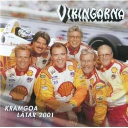 Vikingarna- Kramgoa låtar 2001 (CD)