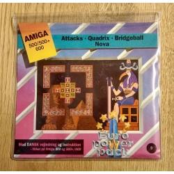 Euro Power Pack - Vol. 9 - Attacks - Quadrix - Bridgeball - Nova - Amiga
