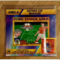 Euro Power Pack - Vol. 18 - Nations Cup Manager - Amiga
