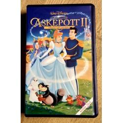 Askepott II - Drømmen blir virkelighet - VHS