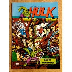 Hulk - 1982 - Nr. 1 - I hippie-kollektivet