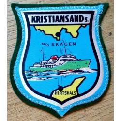 Tøymerke: Kristiansand - MS Skagen