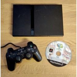 Playstation 2 Slim - Komplett konsoll med FIFA World Cup Germany 2006