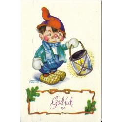 Postkort - Julekort - God jul - Arnold Tilgmann