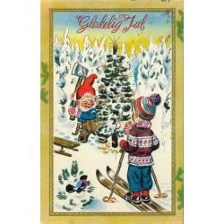 Postkort - Julekort - Gledelig jul