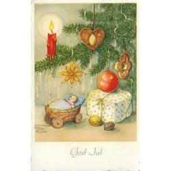 Postkort - Julekort - God Jul
