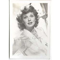 Postkort - Hollywood - Lucille Ball