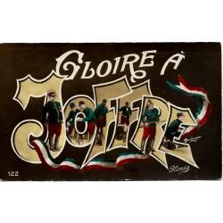 Postkort - Gloire A Joffre - 122 Gloria
