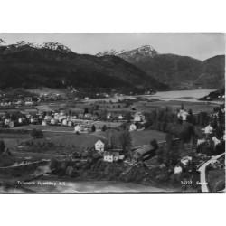 Postkort - Førde - Oversiktsbilde