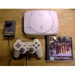 Sony Playstation 1: Komplett PSone konsoll med MDK