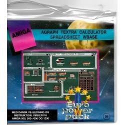 Euro Power Pack - Vol. 26 - Agraph - Textra - Calculator - Amiga