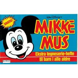 Mikke Mus - Ekstra tegneserie-hefte til barn i alle aldre - Giveaway fra Hjemmet